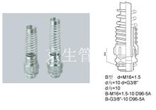 彈簧管接頭DPT_金屬軟管接頭 江蘇京生管業有限公司